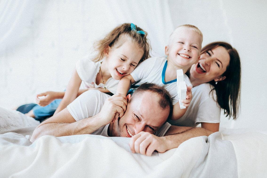 Примеры семейных фотосессий